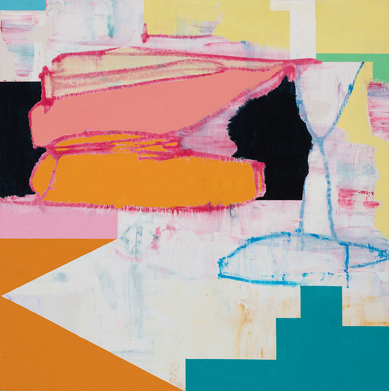 Dan Dudrow painting, The Builder's Dream #10